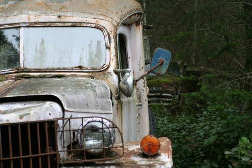 great old ambulance