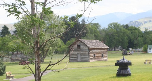 Cabin at Fort Missoula